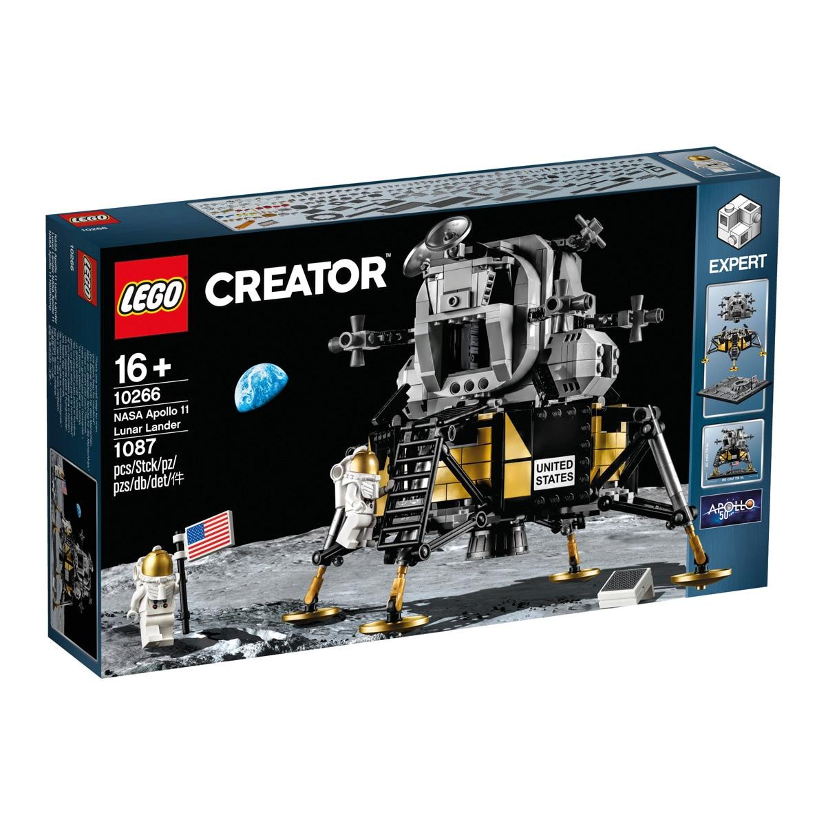 (El Corte Inglés) Lego Creator Expert 10266 NASA Apollo 11 Mondlandefähre (UVP - 19%)