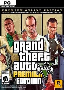 GTA 5 PC Premium Online Edition (1.000.000 $ + Immobilien & Fahrzeuge)
