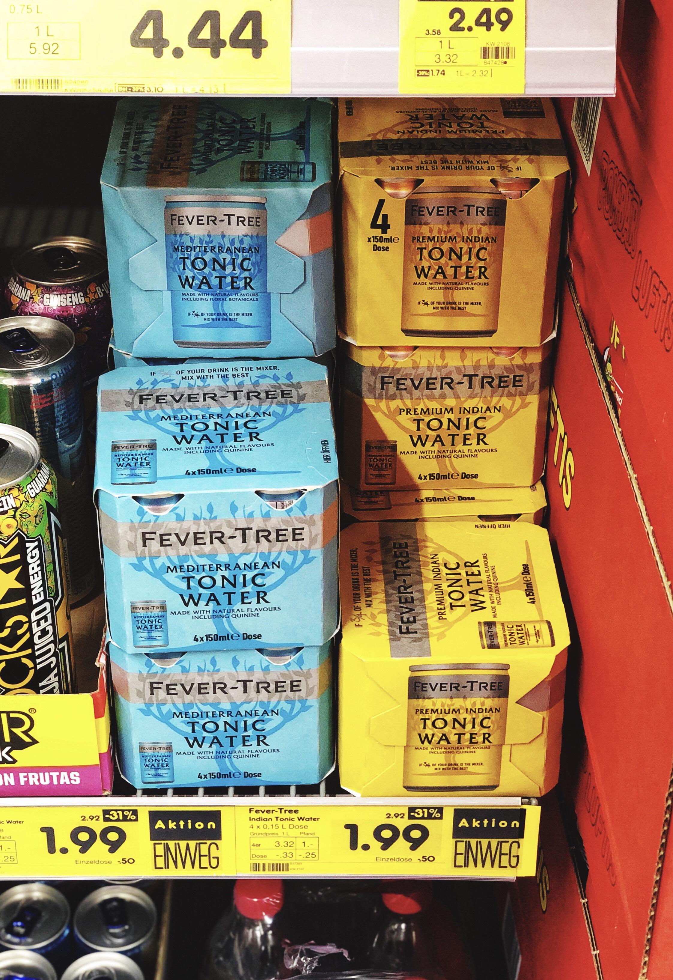[LOKAL] Netto MD - HD/Pfaffengrund - Fever-Tree Premium Tonic Water (4 x 0,15l, vers. Sorten)