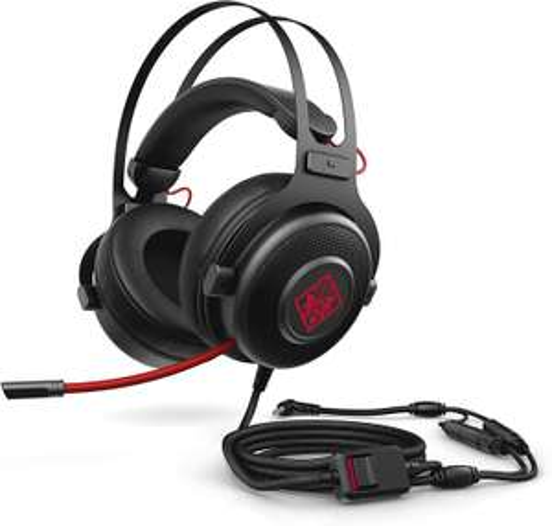HP OMEN 800 Gaming Headset (kabelgebunden, Kopfhöreraufhängung, klappbares Mikrofon) [Amazon & Alternate & Mediamarkt & Saturn]