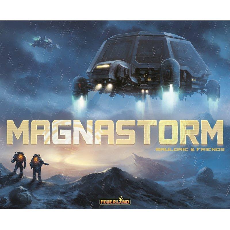 Magnastorm - Brettspiel - taktischer Worker-Placement Titel - BGG 6,8