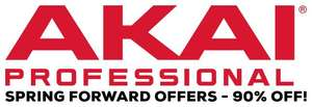 [DAW/Samples/VST] AKAI Professional Spring Forward Offers - 90% Off