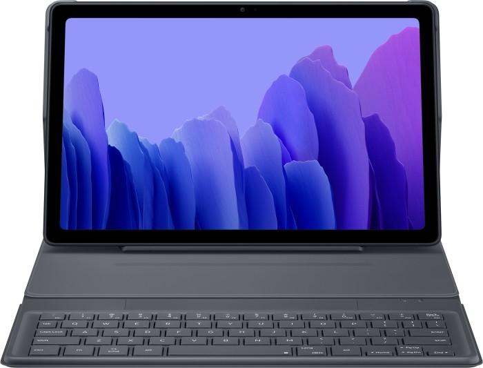 Samsung Tablets mit Gratiscover: z.B. Samsung Galaxy Tab A7 T500, 3/32GB, Dark Gray + Samsung EF-DT500 Book Cover Keyboard