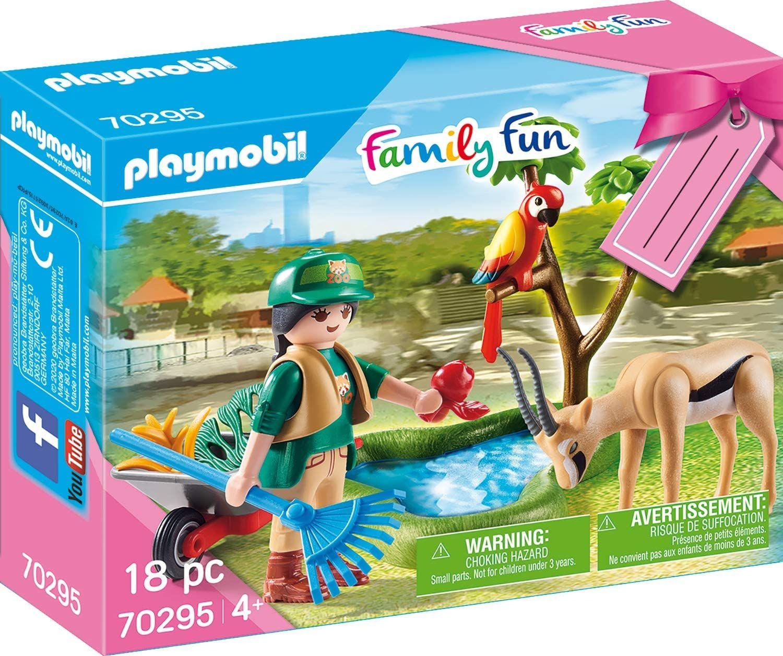 """PLAYMOBIL 70295 Geschenkset """"Zoo"""" Amazon Prime"""