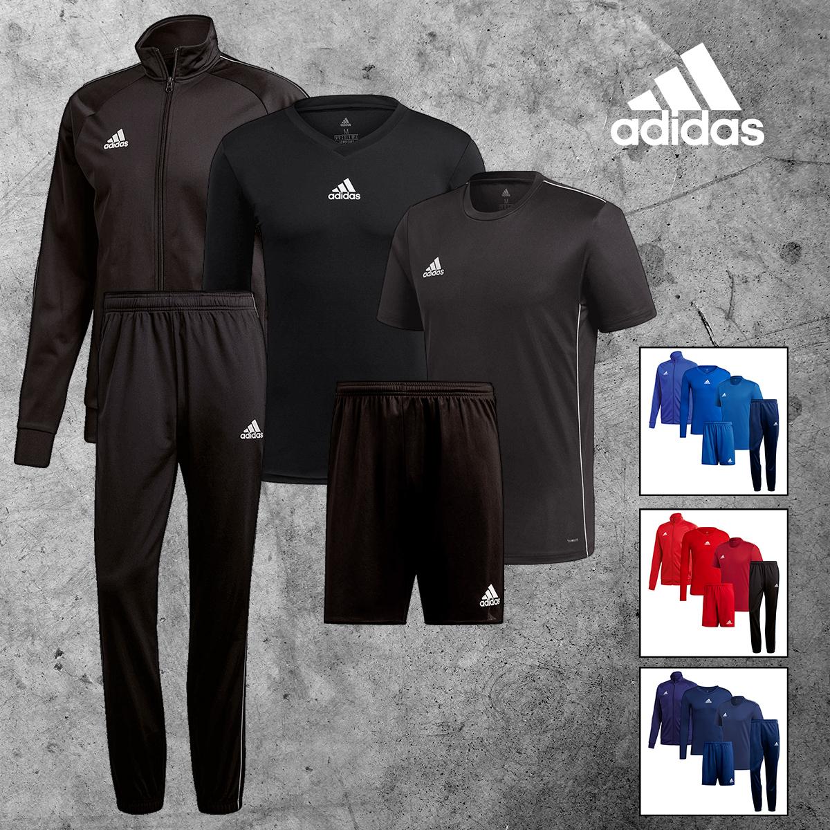 adidas Trainingsset 5-teilig in verschiedenen Farben