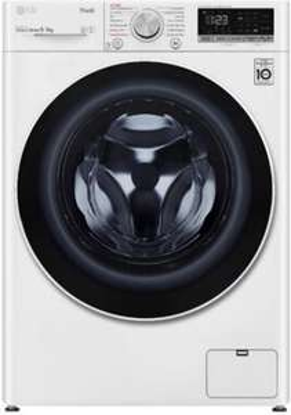 LG V5WD906 Waschtrockner (EEK A, 9/6kg, 1400U/min, Dampffunktion, Direktantrieb, AquaStop, WLAN)