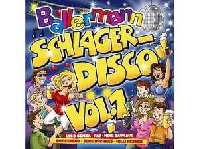 (Media Markt Abholung) VARIOUS - Ballermann Schlagerdisco Vol.1 - (CD)