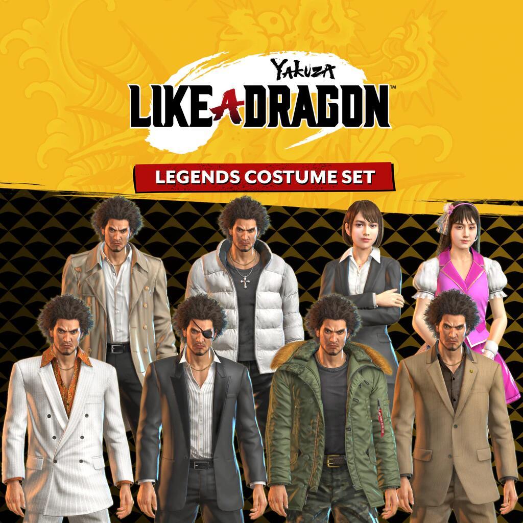 (PS5) Yakuza: Like A Dragon - Legends Costume Set DLC Kostenlos (Playstation Plus Abo benötigt)