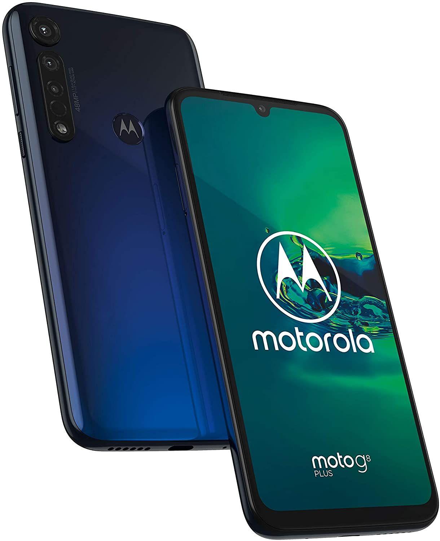 "Motorola Moto G8 Plus 6,3"" FHD+ Dual-SIM Smartphone 4/64GB (Snapdragon 665, 4.000 mAh, 48 MP Triple-Cam, 143K AnTuTu, USB-C, NFC)"
