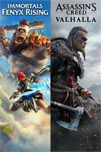 [Xbox] Pack Assassin's Creed Valhalla + Immortals Fenyx Rising & more Ubisoft games games (Store BR)