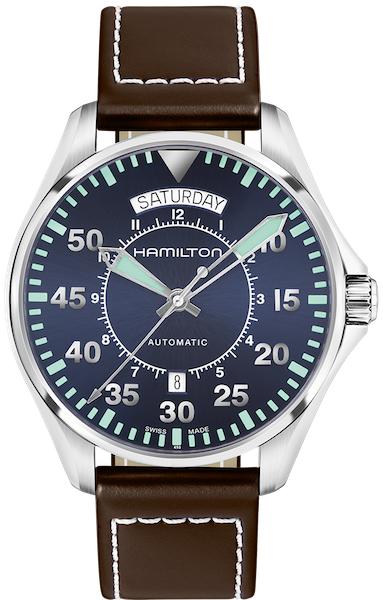 Hamilton Khaki Aviation Pilot Day Date Automatik H64615545