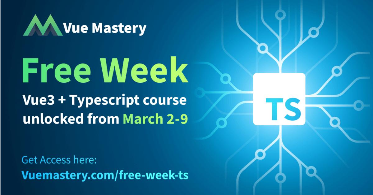Vue Mastery (Vue 3) Kostenloser Kurs