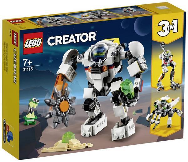 (Thalia KultClub) Lego Osterlamm 40380, Creator 3-in-1 Neuheiten 31115 (Mech) u. 31116 (Baumhaus) zu bisherigen Bestpreisen (UVP - 33/34%)
