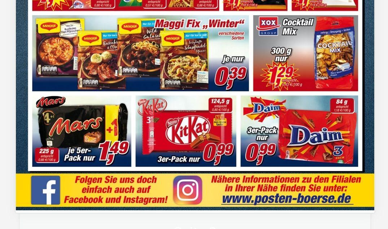 Maggi Fix Winter (Posten Börse)