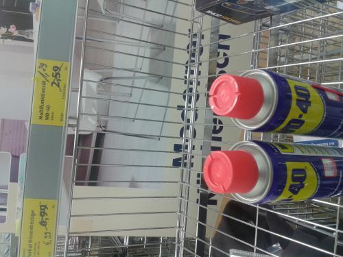 wd-40 für 1,29 bei aldi in köln-suelz