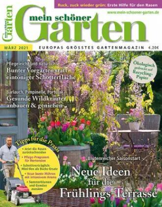 15 Gartenzeitschriften Abos mit bis zu 50% Rabatt oder Prämie | z.B. Gartenflora für 46,60€ + 45 BC-GS | Mein schöner Garten 46 € + 35 € BC