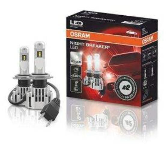 10% Rabatt auf Produkte in der Kategorie: Auto & Motorrad Teile | zB 2x OSRAM H7 NIGHT BREAKER LED - LED Nachrüstlampe für H7 Abblendlicht