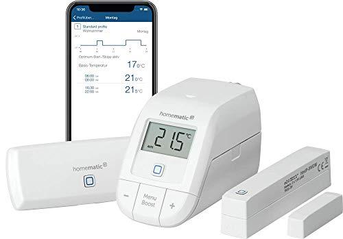 [Amzn,Otto] Homematic IP: Starterset Raumklima (HmIP-SK12: WLAN-AP, Basic-Thermostat, magn. Fenstersensor)