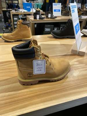 Timberland classic 6 inch Boots 70€ für Erwachsene , Kids 35€, Lokal Outlet Roppenheim
