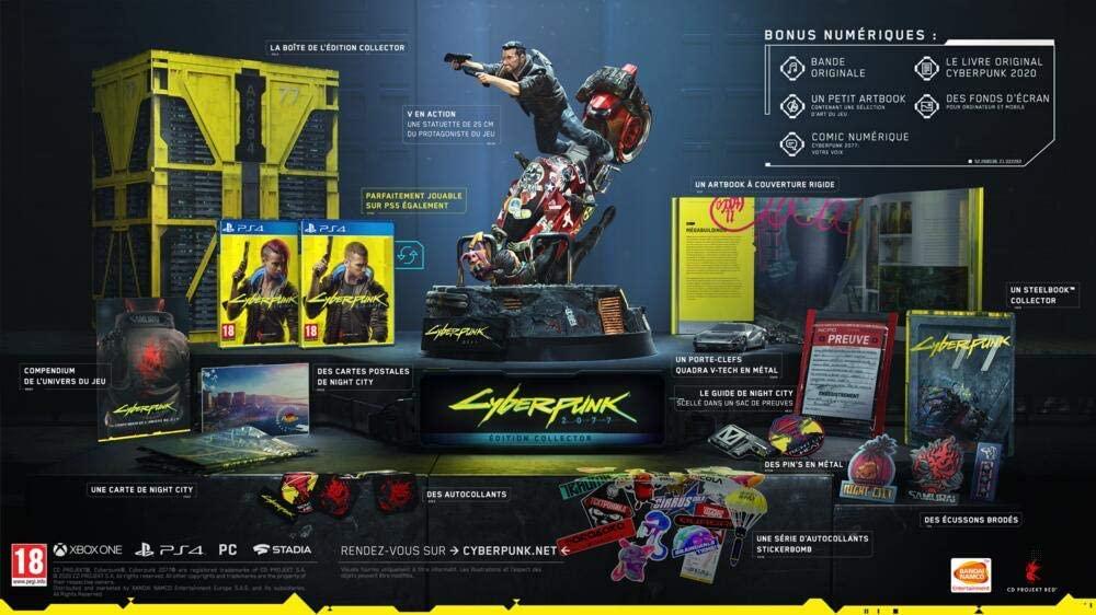 Cyberpunk 2077 Collector's Edition (PS4) für 139,28€ inkl. Versand (Fnac.com)