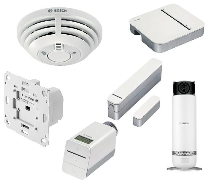 [Bauhaus TPG] Bosch Smart Home Sammeldeal: Tür-/Fensterkontakt 23€; Rauchmelder 50€; Rolladen 47€; Gateway 60€; Thermostat 31,50€