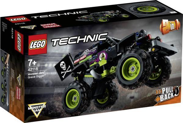 LEGO Technic 42118 - 2 in 1 Monster Jam Grave Digger - Thalia App
