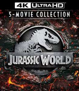 [iTunes] 4K Jurassic Park - 5 Film Collection
