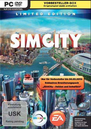Wieder da: SimCity 5 für 34€ @Amazon.com (oder für 30,50€ beim Keyshop, dann aber nur in EN)