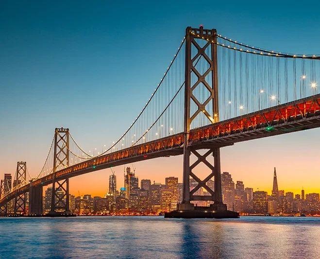 Flüge: San Francisco / USA (bis Jan 2022) Hin- und Rückflug mit TAP von Hamburg und Düsseldorf ab 138€