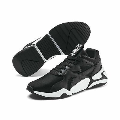 [eBay Wow] Puma Damensneaker Nova Gleam Damenschuhe Sportschuhe Sneaker Unisex schwarz/weiß
