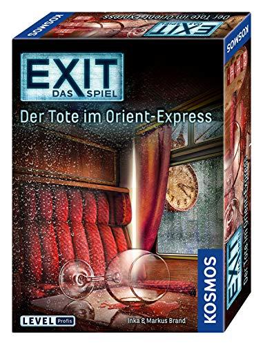 [Amazon Prime / Saturn o. MediaMarkt Abholung] Kosmos 694029 -EXIT- Das Spiel - Der Tote im Orient-Express, Level: Profis, Escape Room Spiel