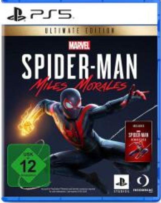 Marvels SpiderMan: Miles Morales - Ultimate Edition (inkl. SpiderMan Remastered) für die PS5