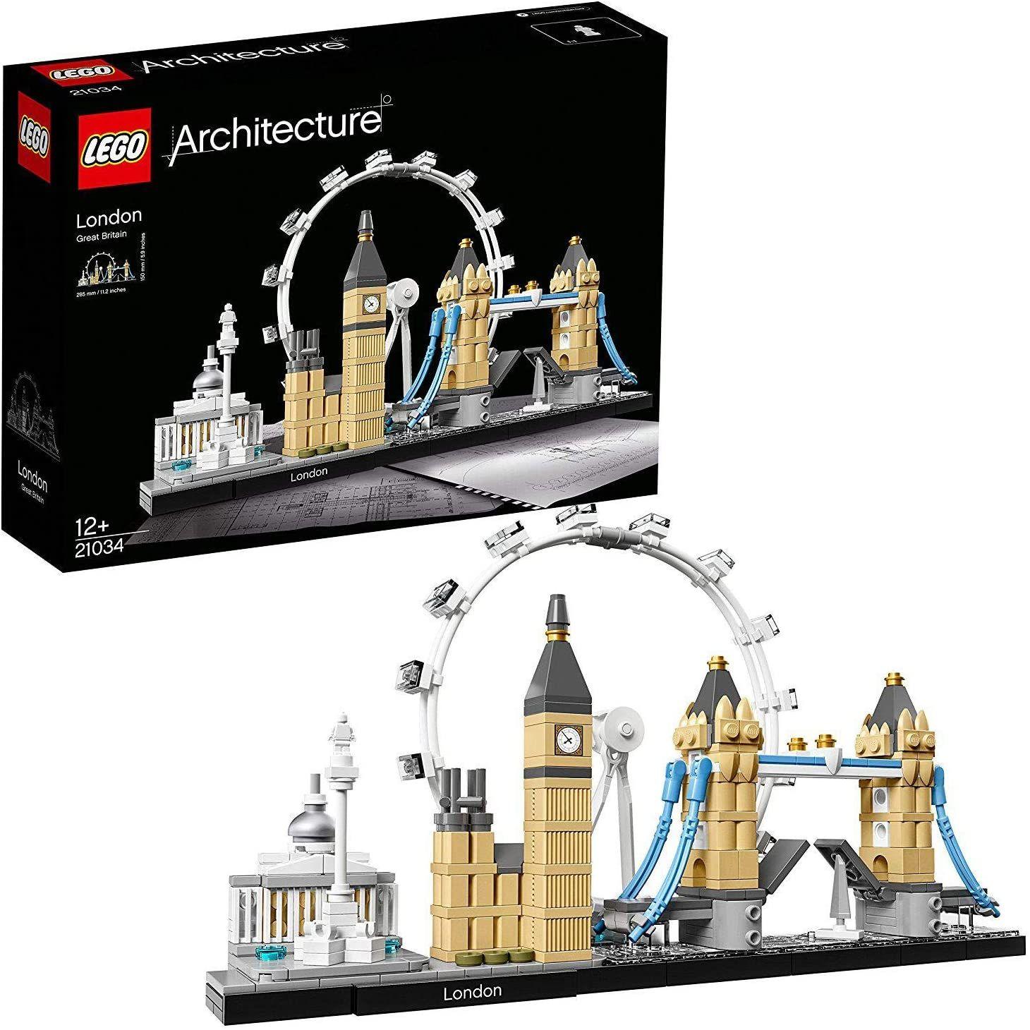 LEGO Architecture 21034 Skyline-Kollektion London (London Eye, Big Ben, Tower Bridge)