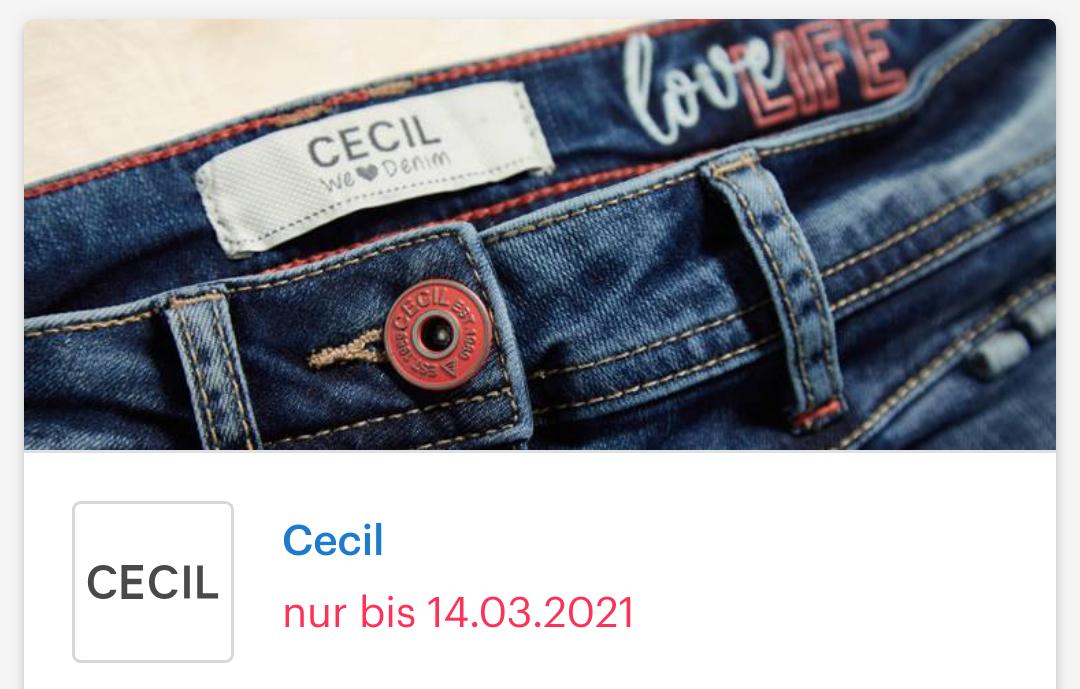 [ Shoop | Cecil | Street One ] 20% Cashback + 10€ Shoop-Gutschein ab 79€ MBW + Sale bis zu 70% + 10% Newsletter Gutschein