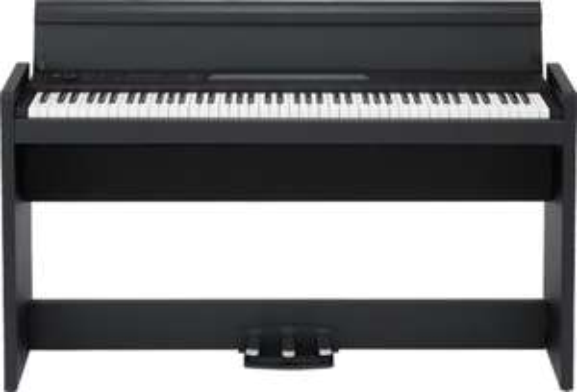 [muziker.de] Korg LP-380 Schwarz Digital Piano, 88iger Tastatur, (Bx TxH): 1355 × 351 × 772 mm