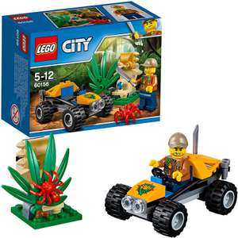 [ Ideeundspiel.com ] LEGO® City 60156 Dschungel-Buggy