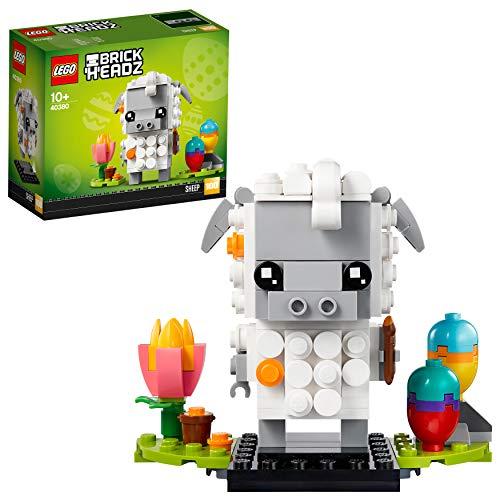 LEGO 40380 Brickheadz Osterlamm Konstruktionsspielzeug, Ostergeschenkidee, Sammlerstück