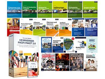 Franzis Heimwerker-Profi Haus & Garten 2.0 E-Book-Paket ( Format: PDF, über 3.500 Seiten, 22 Fachbücher, Sofortdownload )