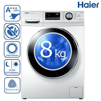 Haier HW80-B14636 Waschmaschine Direktantrieb Frontlader A+++ 8 kg 1.400 (U/min)