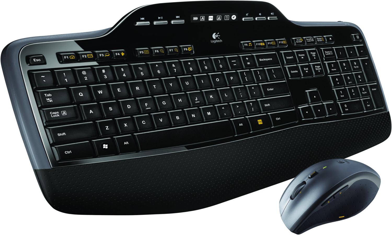 Logitech-Angebote: z.B. MK710 kabelloses Tastatur-Maus-Set | zudem M185, K120, MK120, MK235, MK270, M330, K400, M705, K380 & MK545