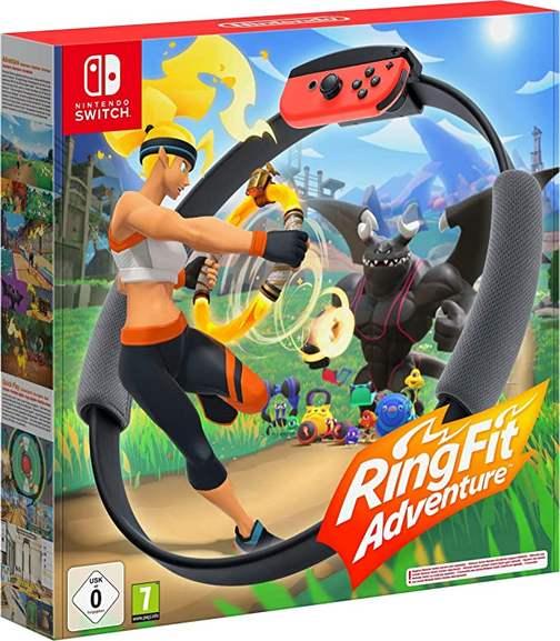 Ring Fit Adventure Nintendo Switch für 72,01€ inkl. Versandkosten (mit personalisiertem Rabatt evtl. für 67,01€ möglich)