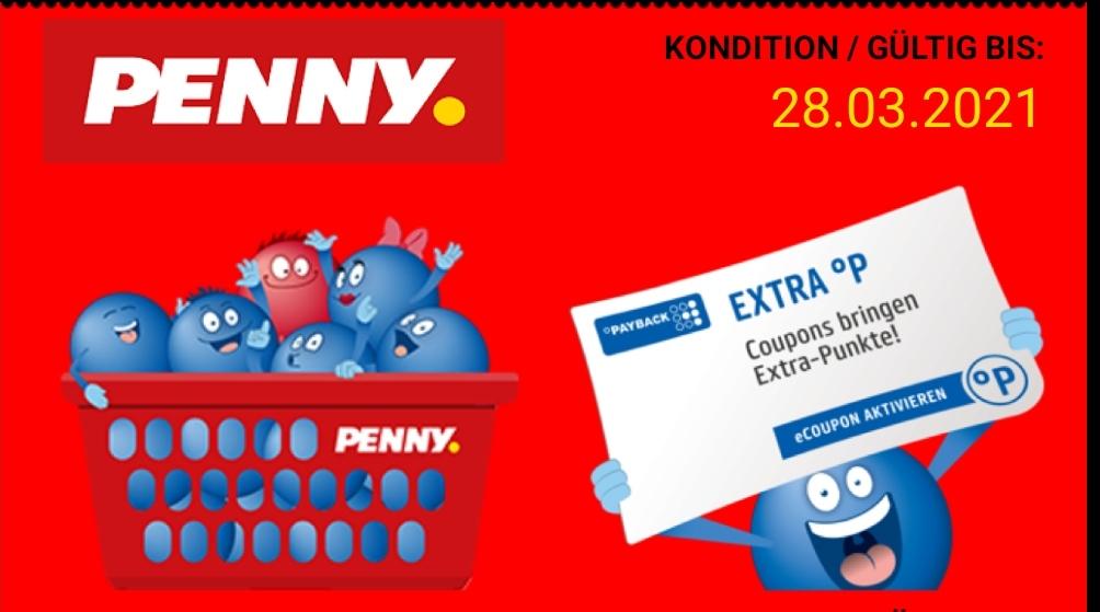 Payback 2x 10 Fach und mehrfach auf Warengruppen bei Penny