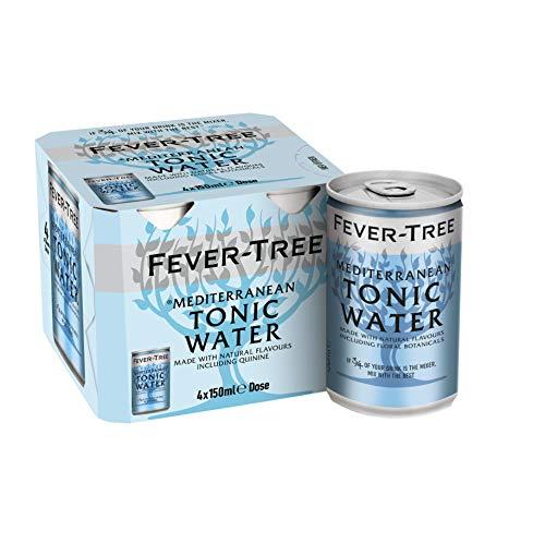 Fever-Tree Medi. Tonic Water 24 Dosen à 150ml - Personalisiert: 36% Rabatt im Spar-Abo (erste Lieferung)
