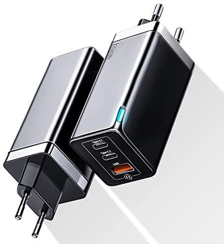 Baseus USB C Ladegerät / Netzteil mit 65W + 100W USB C Ladekabel für 22,94€ bei ebay