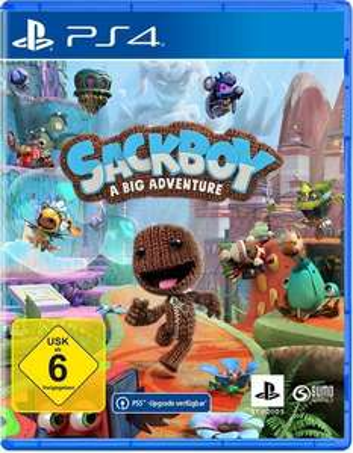 Sackboy: A Big Adventure (PlayStation 4) [Expert Technomarkt]