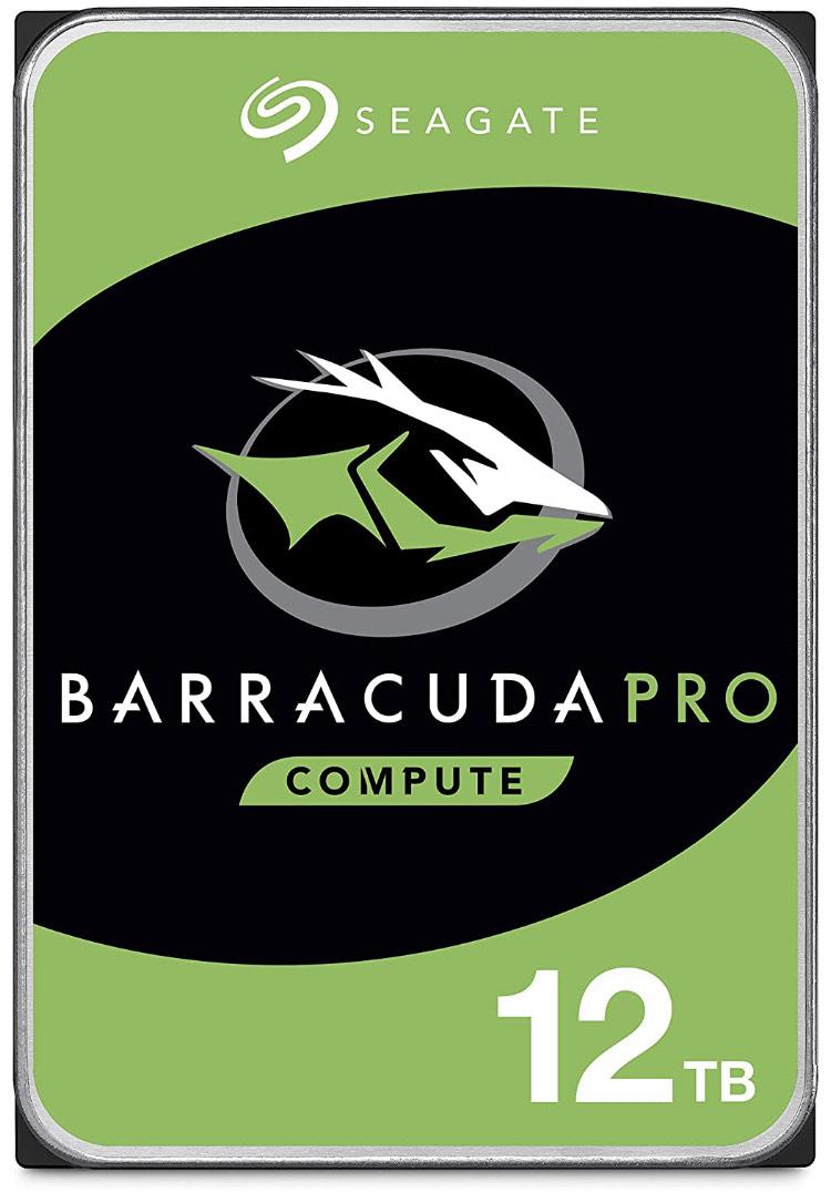 Seagate BarraCuda Pro 12TB (ST12000DMZ007 / ST12000DM0007)