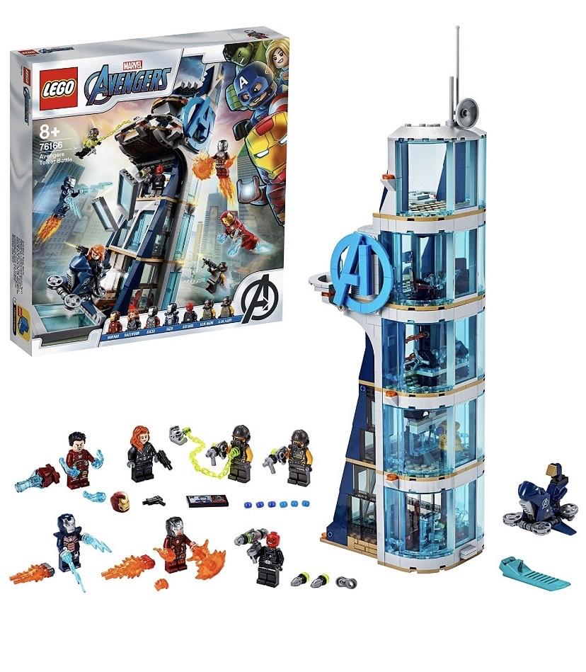 Lego Avengers Tower 76166