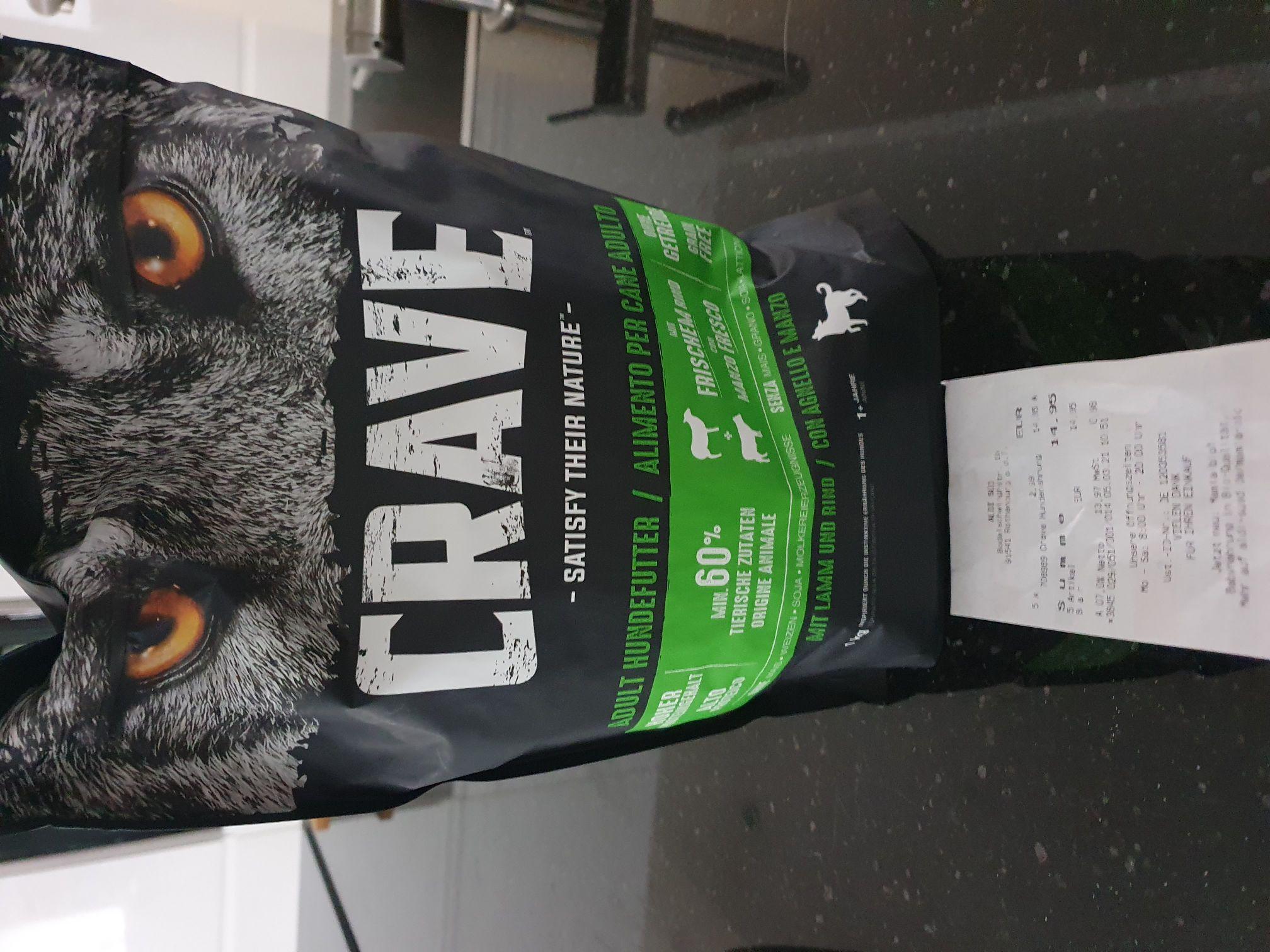 Crave 1kg Trockennahrung bei Aldi Süd für 2.99€