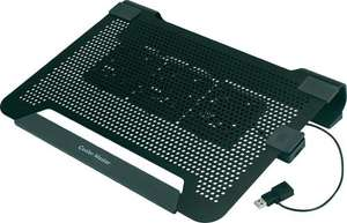 Cooler Master NotePal U3 Alu Notebook Kühler mit 3 verstellbaren Aktiv-Lüftern