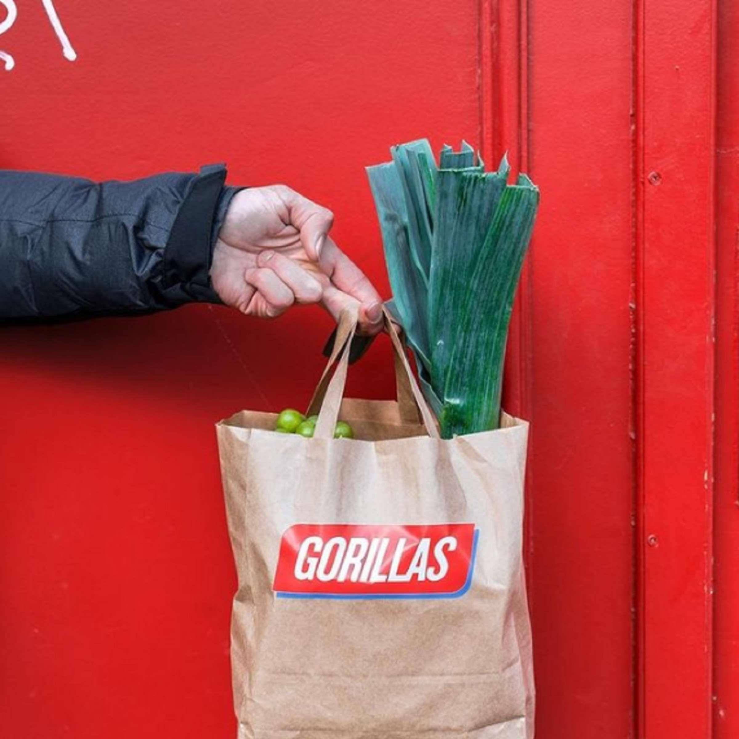 [B/HH/D/K/F/M] 40% Rabatt auf die erste Bestellung beim Lebensmittel-Lieferdienst Gorillas